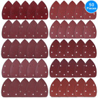 AUSTOR 50 Pieces Mouse Detail Sander Sandpaper Sanding Paper Hook and Loop Assor