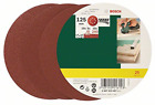 Bosch 25 Random Orbit Sanding Sheets of 125 mm, 80-240 Grit