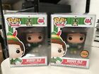 FUNKO POP BUDDY ELF w PRESENT & SYRUP LIMITED CHASE SET #484 w FREE PROTECTOR