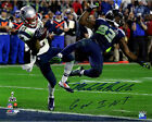 Steiner Malcolm Butler Signed Superbowl 49 INT 16x20 Photo w GW INT Insc