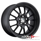 18 Silver Staggered Klutch SL14 Wheels 5x115 For Buick Cadillac Chevy Saturn