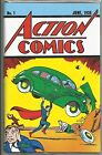 Superman Action Comics 1 Loot Crate June 1938 1 Reprint with COA FREE SHIPPING