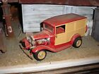1/24 1/25 Vintage 1920's Ford Woody Wagon Hot Rod for Junkyard diorama parts Red
