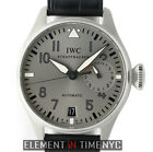 IWC Big Pilot 18k White Gold 46mm Grey Dial Limited Edition 2011 IW5004-30 NOS