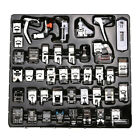 42PCS Sewing Machine Foot Presser Feet Set for Brother Singer Janome New Pro.