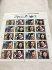 2 Full Pane of 40 Stamps 32 Cent 1996 US Postage Opera Singers