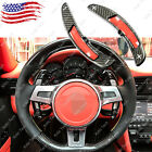 Carbon Fiber PDK Steering Wheel Paddle Shifter Extension for Porsche 911 2016-17