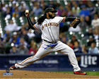 Johnny Cueto Signed San Francisco Giants Pitching 8x10 Photo