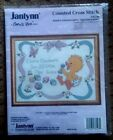Janlynn Suzys Zoo BABYS FRIENDS BIRTH ANNOUNCEMENT Counted Cross Stitch 38 148