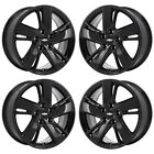 17 CHEVROLET CRUZE BLACK WHEELS RIMS FACTORY OEM 2014 2015 SET 4 5610
