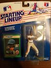 1989 Darryl Strawberry Starting Lineup Sports Figurine / Card - NY Mets Canadian