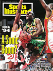 SUPERSONICS GARY PAYTON HAND SIGNED AUTOGRAPHED SPORTS ILLUSTRATED MAG WITH COA!