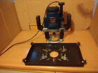 RYOBI RE-601 VARIABLE SPEED PLUNGE ROUTER 230v 2050w PLUS TABLE INSERT PLATE
