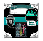 DISNEY Do You Dare dsp 12x12 2 premade scrapbook pages layout