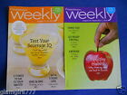 Weight Watchers Weeklies August 12 18 2012 and August 26 September 1 2012