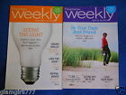 Weight Watchers Weeklies April 22 28 2012 and September 2 8 2012