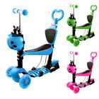 Ancheer Scooter for Kids 3 Wheel Handheld Children Kick Scooter w LED Light