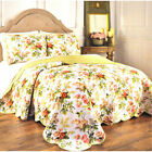 Waverly 3Pc Quilt Set Full/Queen, Brianna Pink