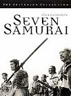 Seven Samurai DVD 1998 Criterion Collection Cult Out Of Print Free Shipping
