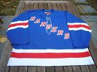 Pro Player Center Ice New York Rangers Authentic Jersey Blue Sz. 56 Vtg NHL