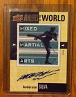 2011 UD World Of Sports Anderson Silva Auto Athletes Of The World