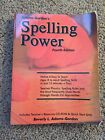 Spelling Power 4th Edition