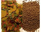 Fish Flakes Pellets Tropical Food BULK Goldfish flake pellet aquarium pond fresh