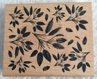 Leaf Clusters Rubber Stamp 92652 Inkadinkado Branches Nature