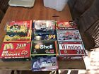 Nascar diecast lot 10 cars +2 Revell 124 good condition