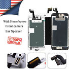 For iphone 6s 6s Plus Full LCD Touch Screen Digitizer Replacement +Button Camera