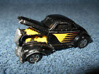 1999 HOT WHEELS RIGHT ROLLER BLACK HOT ROD WITH OPENING HOOD 3