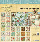 Graphic 45 Time To Flourish 8x8 Double Sided Cardstock Paper Pad Calendar