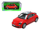 ANAA 18042R 2012 Volkswagen New Beetle Red 1 18 Diecast Car Model by Welly