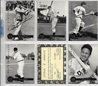 1994 Front Row All Time Greats Ralph Kiner Autographed 5 Card Set With COA