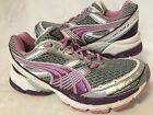Womens PUMA Complete Vectana 2 Running Shoes Silver Purple White Size 8 1 2