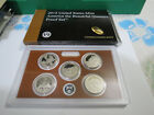 2012 S America The Beautiful Proof Quarter Set In Original Mint Box