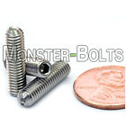 10-32 - Cup Point Socket Set Grub Screws Sae Fine Stainless Steel A2 18-8