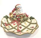 Fitz And Floyd Renaissance Santa Server Large 12-1/2