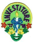 Girl INVESTITURE 17 18 2017 2018 Ceremony Fun Patches Crest Badge SCOUTS GUIDE