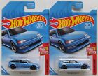 LOT of 2 Hot Wheels Limited Edition 90 HONDA CIVIC EF BLUE KMart Exclusive