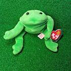 TY Beanie Baby Legs The Frog RARE 1993 No Star Tush Tag RETIRED Original 9 MWMT