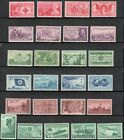 US Postage Stamp Collection Of 25 Vintage Stamps 60 to 80 Years Old Mint V 1