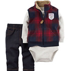 Carters Baby Boys Vest Set