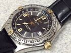Mens Breitling Windrider Antares GMT World Timer! Model 32047! RARE! Automatic