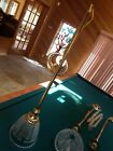 bar table top light3metalgoldextension tubesglass lampshade cover very god