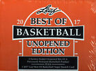 2016-17 Leaf Best of Basketball Unopened Edition Hobby 6 Box Case