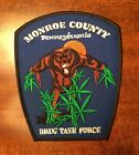 Police Patch Drug Task Force Monroe County PA