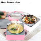1 2 3 Layer Stainless Steel Warm Keep Lunch Box Food Container Box Bento Bowl BT
