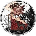Amy Brown Collection Red Queen 1 oz 999 Silver Colorized Proof Round USA Coin