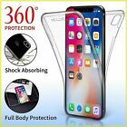 Fully 360 Front back Silicone Protective Case Cover For Apple iPhone 8 PLUS X 7+